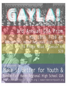 GAYLA poster 3D