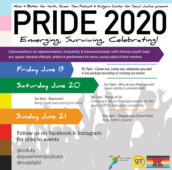 Make it Better 4 Youth Pride 2020